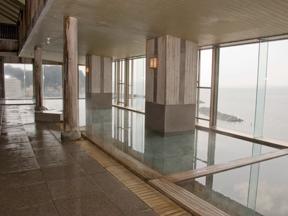 鴨川ホテル三日月 天の川露天風呂 誕生の湯
