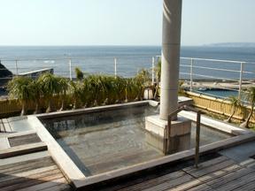満ちてくる心の宿吉夢 天空庭園風呂「誕生の湯」