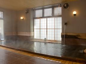 美味しい温泉 夢みさき 大浴場「夢咲岬」内湯