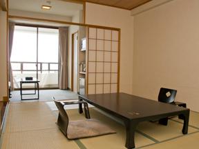 美味しい温泉 夢みさき 古代檜の全天候型専用露天風呂付きの純和室