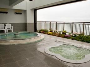 美味しい温泉 夢みさき 展望露天風呂「華幻」
