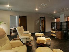 大江戸温泉物語 松島温泉 ホテル壮観 個室もあるエステサロン「櫻」