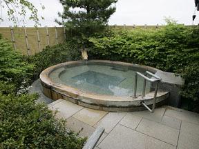 松島温泉 松島一の坊 露天の湯「八百八島」