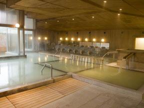 鳴子ホテル 大浴場檜風呂「玉の湯」