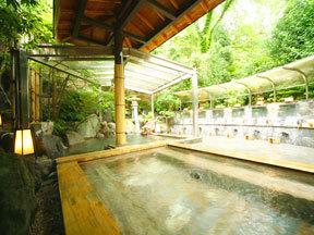 雄山閣 女性用露天風呂