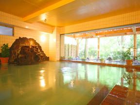 白鷺湯たわらや 開放感いっぱいの白鷺湯「女湯」大浴場