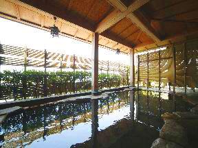 天空の宿大観荘 眺望がよくゆったりできる露天風呂