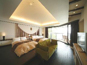 多田屋 ベッドの中から海が見える高台の部屋