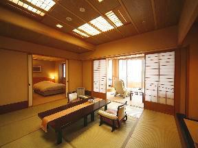 日本の宿のと楽 リゾート気分を満喫できる和洋室