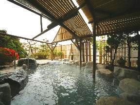 平成館しおさい亭 4階露天風呂