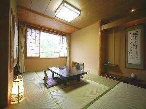 登別石水亭 カップルからグループまで、幅広く利用できる和洋室