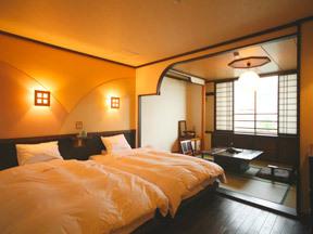ホテル阿寒湖荘 若いカップルや夫婦連れの指定が多い人気の客室