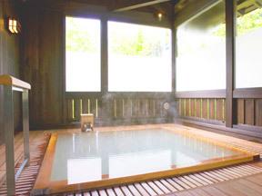 蔵王国際ホテル 貸切風呂 山の恵み湯