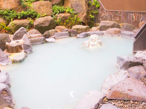蔵王国際ホテル 八右衛門の湯 露天風呂