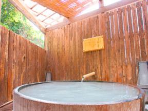 深山荘高見屋 露天大桶風呂
