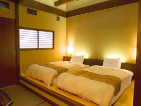 深山荘高見屋 純和風旅館には珍しいメゾネットタイプの客室