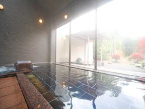源泉湯の宿 紫翠亭 男性大浴場「浦島の湯」