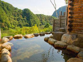 ホテル角神 川の湯(女性専用露天風呂「阿賀の湯」)
