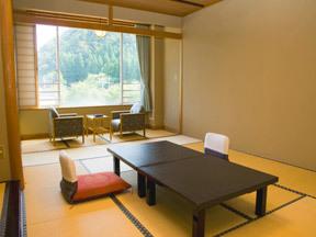 翠玉の湯佐取館 阿賀野川を一望できる、スタンダード和室