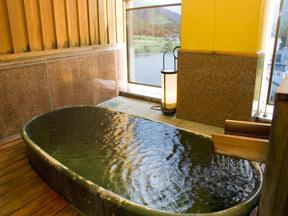 翠玉の湯佐取館 貸切露天風呂「織部の湯」