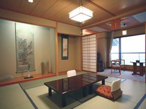大観荘せなみの湯 露天風呂を独占して日本海を眺める贅沢な客室