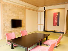 湖南荘 明るい雰囲気にあふれたモダンな和室