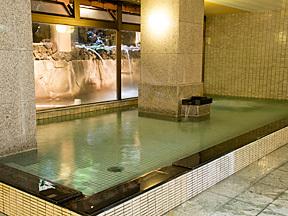 花水庭おおや 男性大浴場「清流の湯」