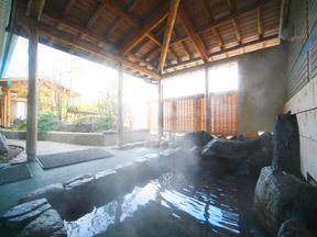 ホテル紫苑 絹の湯(岩露天風呂)