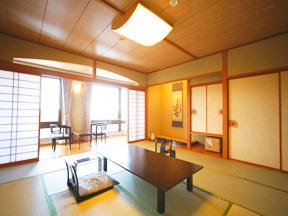 ホテル森の風鶯宿 岩手山を正面に望み、広くゆとりのある部屋