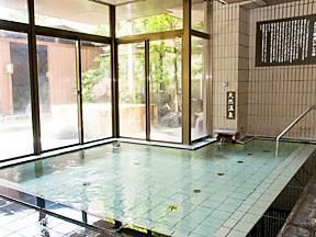 """""""美と健康と癒しの宿""""ホテル八田 男性大浴場"""