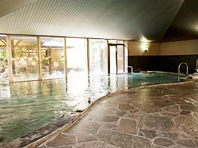 ホテルふじ 大庭園風呂「きんすい」