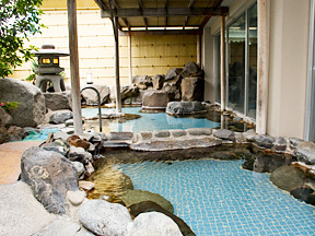ホテルふじ 露天風呂「風林」