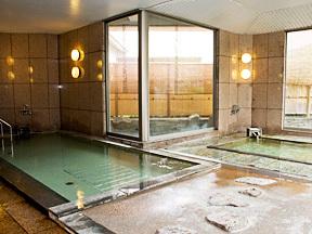 甲府富士屋ホテル(2019年4月1日より:甲府 記念日ホテル) 温泉大浴場「湯むら」
