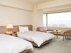 甲府富士屋ホテル ゆとりの空間のスタンダードツイン