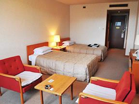 湯沢パークホテル クラシカルな雰囲気のツイン