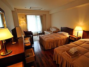 旭岳温泉ホテルベアモンテ 高級感あふれるお洒落なツインルーム