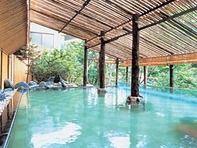 定山渓ビューホテル 露天風呂