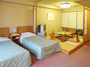 ホテル鹿の湯 ゆったりとくつろげる人気の部屋