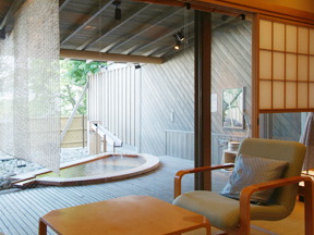 日本の宿古窯 「露天風呂付き客室」は全部で9部屋