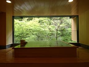原瀧 滝見の湯は、その名の通り眺望抜群