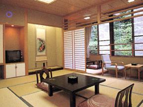 蓬莱館福引屋 自然の景色と日本の風情に心和む客室