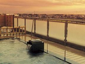 ホテルふせじま 関東平野を一望できる展望露天風呂