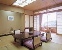ホテルふせじま 冬は日当たりが抜群に良い本館の客室