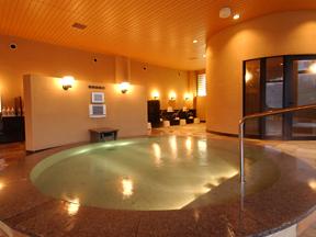 飯坂ホテル聚楽 炭酸ガスで芯から温まる炭酸泉風呂