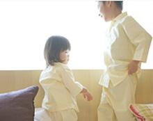 オリエンタルホテル 東京ベイ 【ファミリー】お子様用パジャマ2ピース。パジャマはママサロンにて80・90・100・110・120・130・140cmの7サイズから上下別々に選択可能。