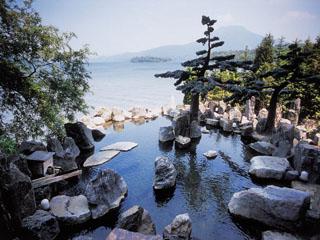 あかん遊久の里鶴雅 鹿泉の湯