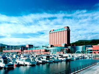 グランドパーク小樽 小樽のベイエリアに建つインターナショナルホテル