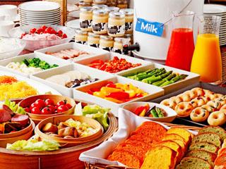 センチュリーロイヤルホテル 朝食ビュッフェは北海道の四季の食材を厳選した体にやさしい120品目