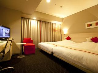ホテルグレイスリー札幌 デラックスツイン(エグゼクティブフロア サイドベッド)