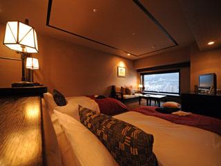ラビスタ函館ベイ [客室]全室函館山側の眺望デラックスツイン